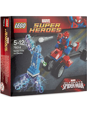 LEGO Spider-Trike vs. Electro set