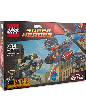 LEGO Super Heroes Spider-Helicopter Rescue set