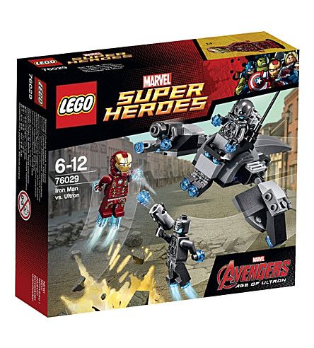 LEGO Superheroes iron man vs ultron