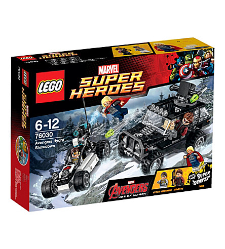 LEGO Superheroes avengers vs hydra showdown