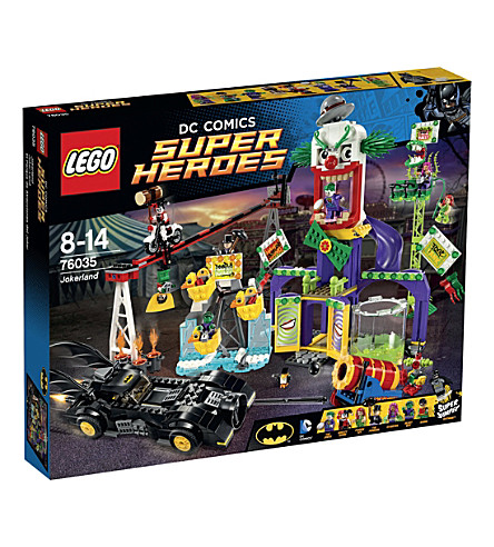 LEGO Superheroes jokerland