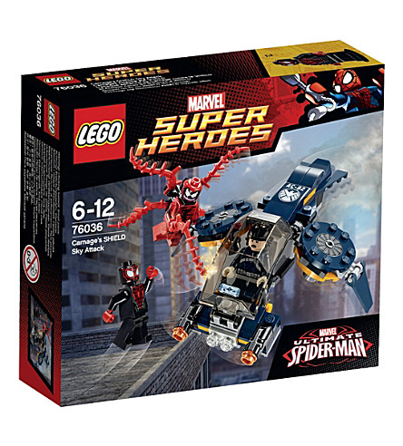LEGO Superheroes Carnage's SHIELD Sky Attack