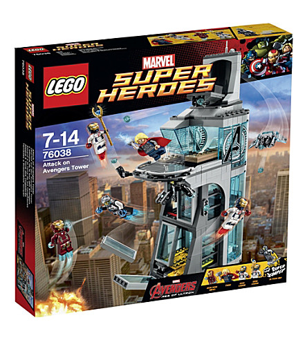 LEGO Marvel Superheroes attack on avengers tower