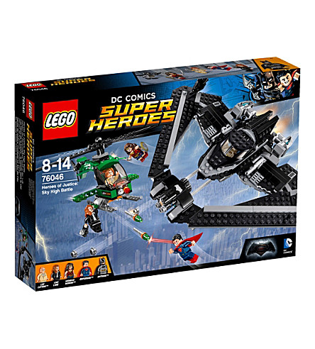 LEGO Super Heroes sky high battle