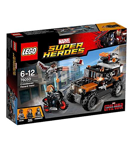 LEGO Super heroes crossbone hazard heist