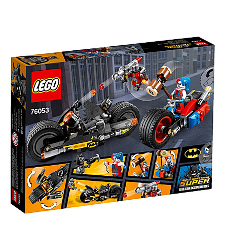 LEGO Super heroes batman gotham city cycle chase