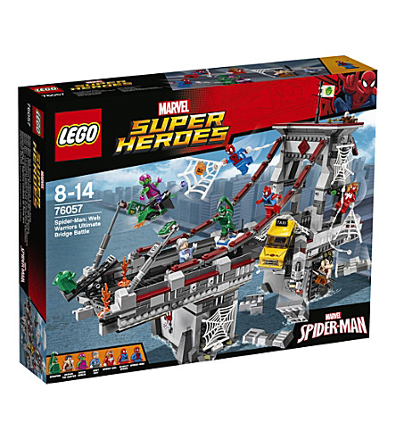 LEGO Marvel Superheroes Spider-Man: Web Warriors Ultimate Bridge Battle