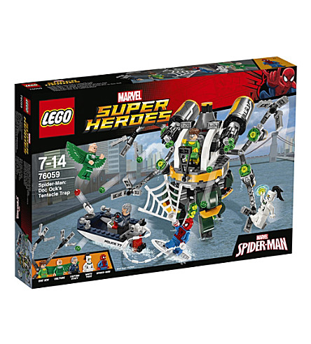 LEGO Marvel Superheroes Spider-Man: Doc Ock's Tentacle Trap