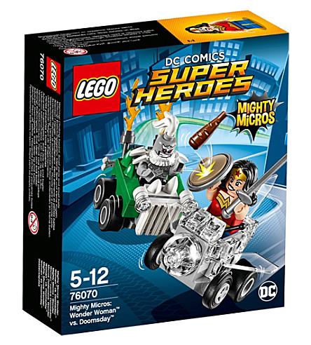 LEGO DC superheroes Mighty Micros wonderwoman vs. doomsday
