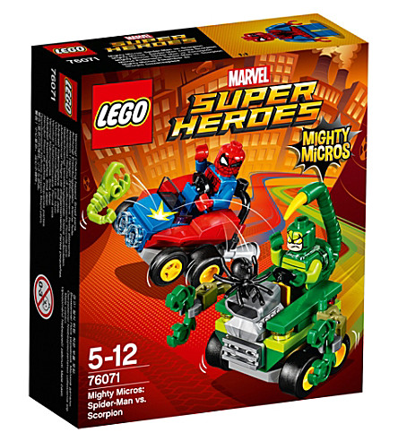 LEGO Marvel superheroes Mighty Micros Spider-Man vs. Scorpion