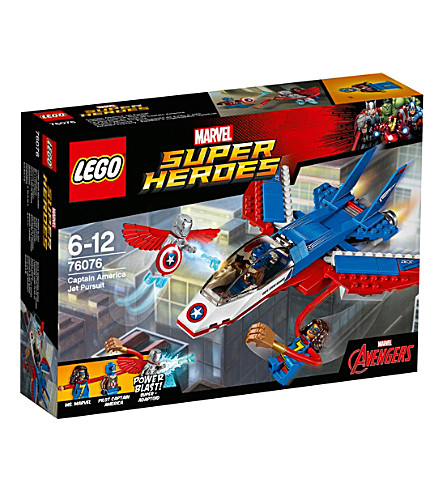 LEGO Marvel superheroes Captain America jet pursuit