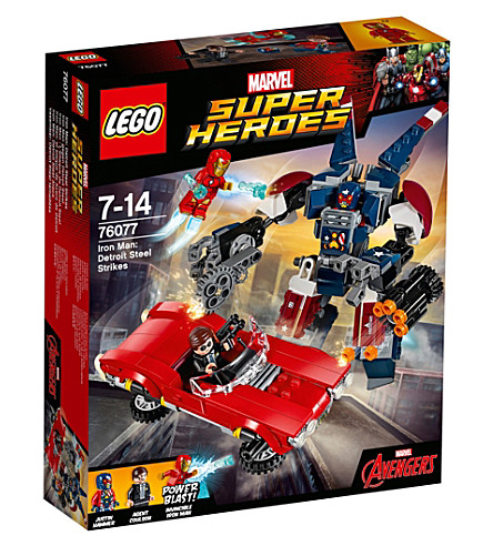 LEGO Marvel superheroes Iron Man: steel strikes