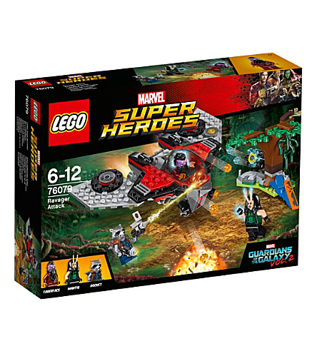 LEGO Guardians of the Galaxy Volume 2 Ravager attack play set