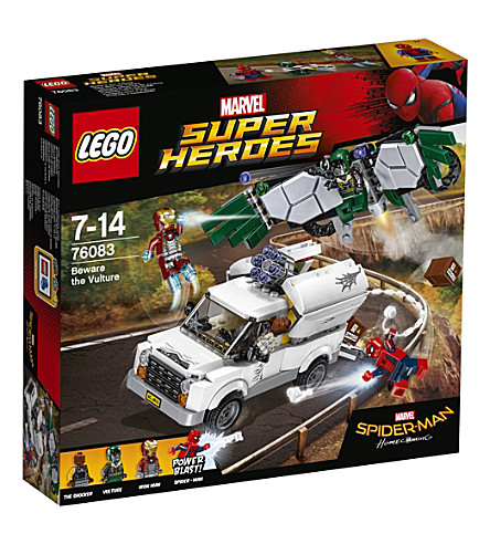 LEGO Marvel Super Heroes Spiderman play set