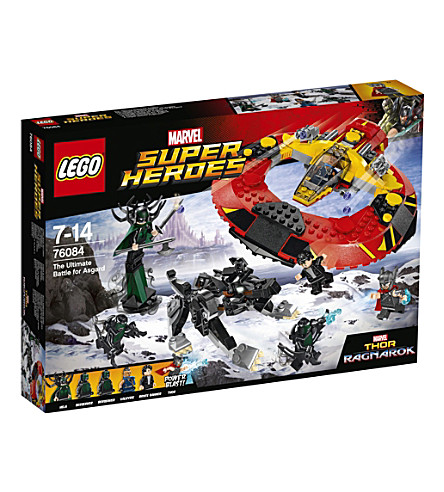 LEGO Marvel Super Hero Thor play set