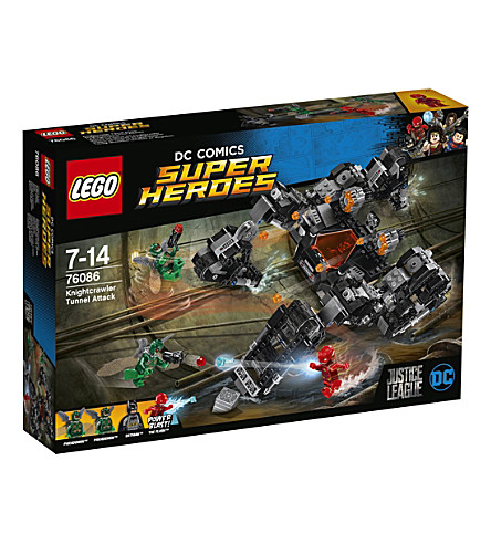 LEGO Justice League Knightcrawler Tunnel Attack