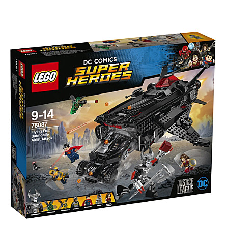 LEGO Justice League Flying Fox: Batmobile Airlift Attack