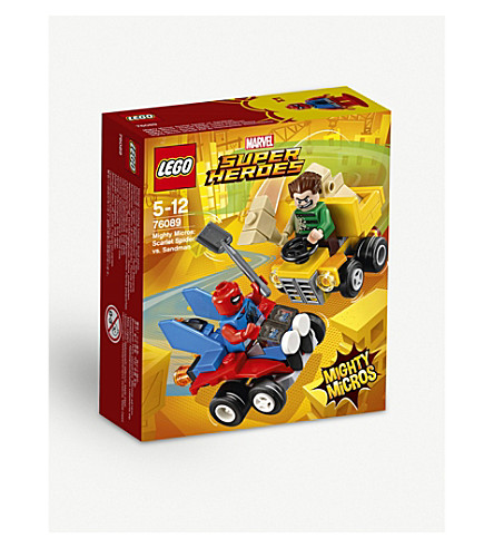 LEGO Mighty Micros: Scarlet Spider vs Sandman playset