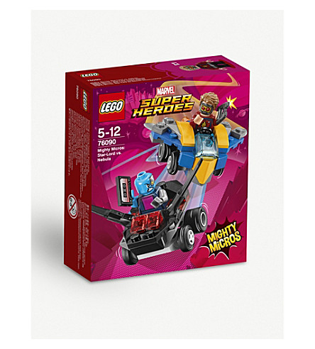 LEGO Star-Lord vs. Nebula figure playset