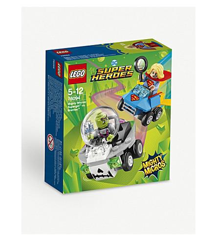 LEGO Supergirl vs. Brainiac playset