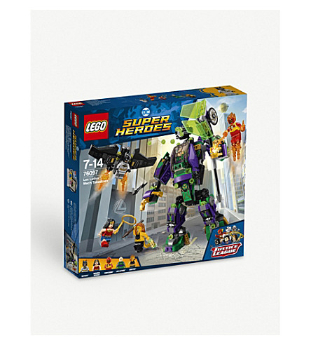 LEGO Lex Luthor Mech Takedown playset