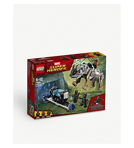 LEGO Rhino Face-Off by the Mine playset