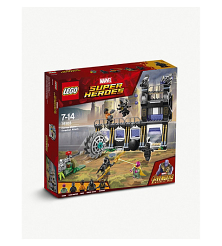 LEGO 76103 Marvel Super Heroes: Avengers Corvus Glaive Thresher Attack