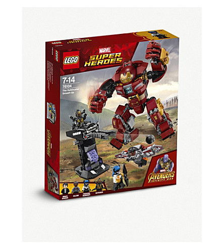 LEGO 76104 Marvel Super Heroes: Avengers The Hulkbuster Smash Up