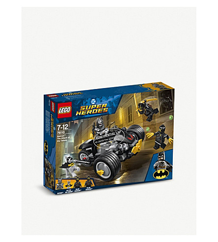 LEGO DC 超级英雄 76110 Batman:爪子的攻击设置