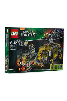 LEGO Turtle Van Takedown set