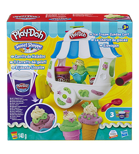 PLAYDOH Sweet Shoppe Ice Cream Sundae Cart