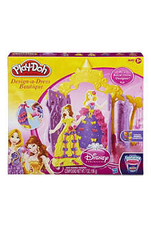 PLAYDOH Disney Design-a-Dress Boutique playset