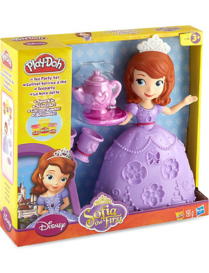 PLAYDOH Disney Sofia the First tea party set