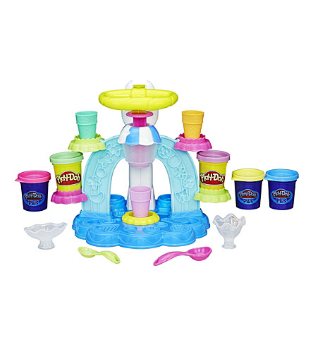PLAYDOH Sweet Shoppe Swirl and Scoop Ice-Cream set