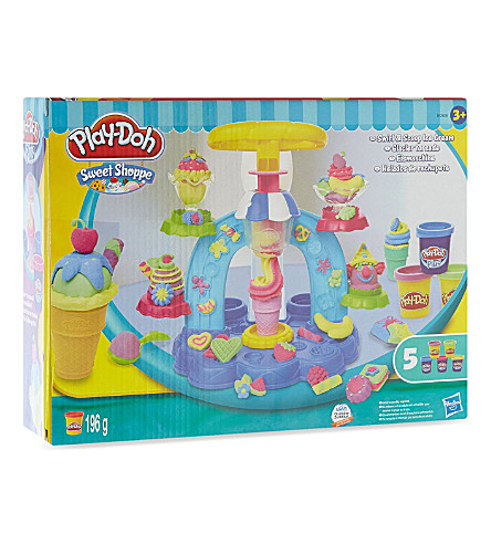 PLAYDOH Sweet Shoppe Swirl n Scoop Ice Cream playset