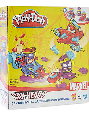 PLAYDOH Marvel Can-Heads Vehicles