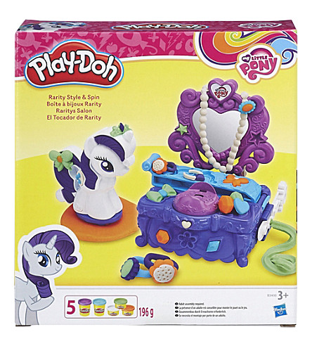 PLAYDOH My Little Pony Rarity Style and Spin