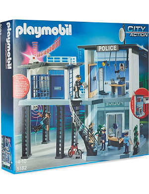 PLAYMOBIL Police station play set