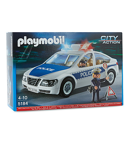 PLAYMOBIL Police car set