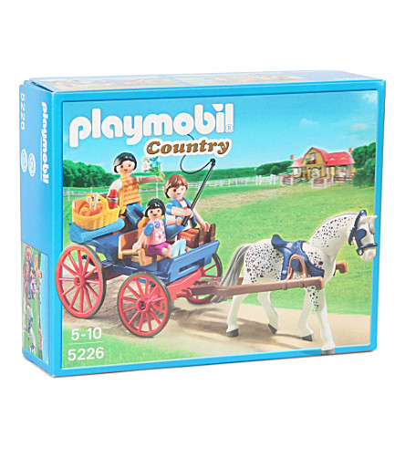 PLAYMOBIL Country horse-drawn carriage