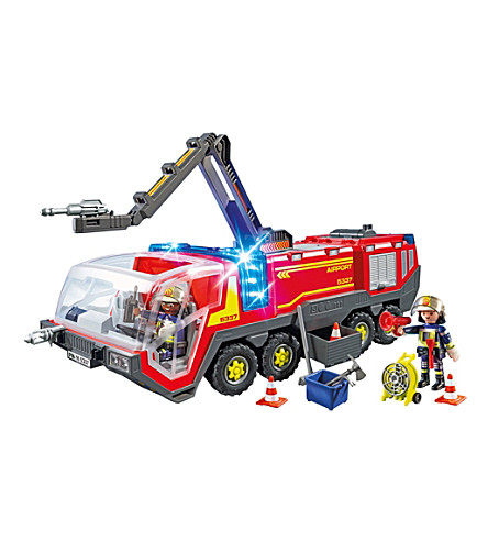 PLAYMOBIL City Action airport fire engine playset