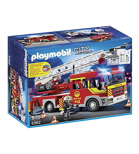 PLAYMOBIL City Action ladder unit play set