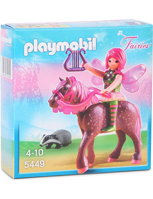 PLAYMOBIL Fairies forest fairy with horse