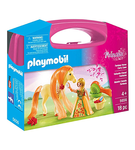 PLAYMOBIL Princess Fantasy Horse Carry Case Playset