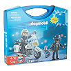 PLAYMOBIL Police and robber with carry case