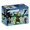 PLAYMOBIL Giant troll with dwarf fighters play set