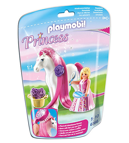 PLAYMOBIL Princess Rosalie with horse toy