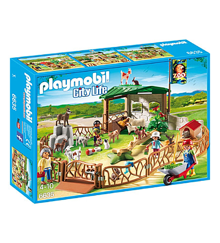 PLAYMOBIL City Life Petting Zoo