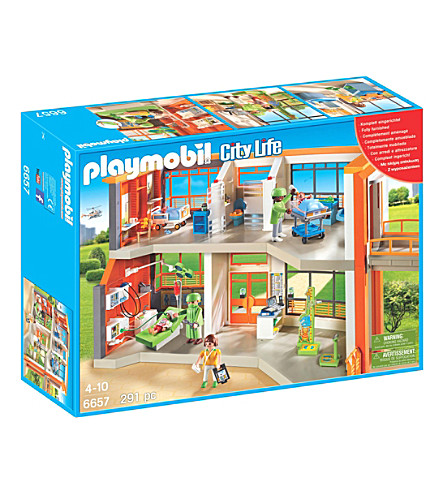 PLAYMOBIL Playmobil City Life Furnished Children's Hospital