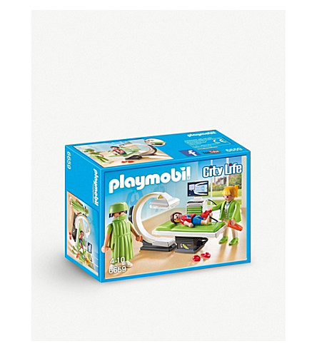 PLAYMOBIL City Life X-ray room playset